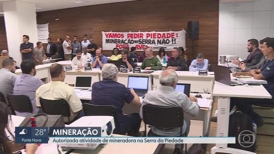 Conselho de meio ambiente aprova volta da mineração na Serra da Piedade