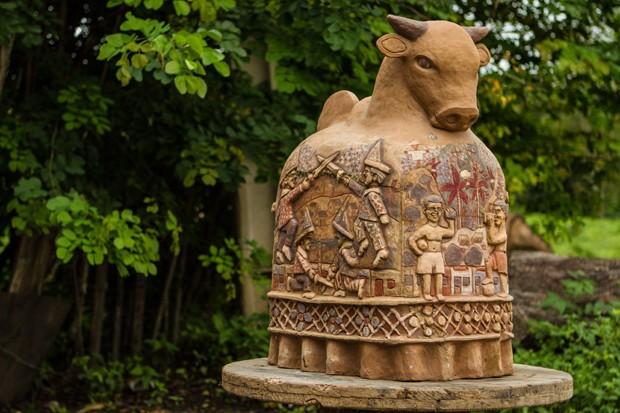 Cerâmica de Capela (Foto: Michel Rios)