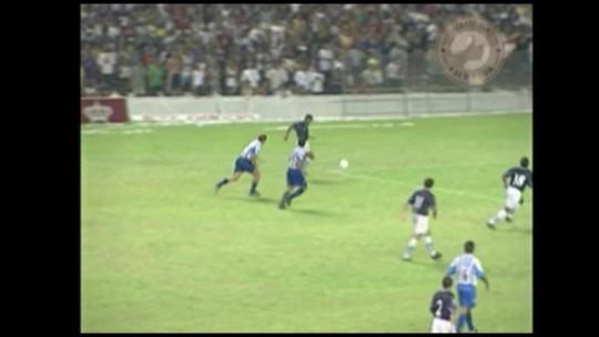 Memória Pai d'Égua relembra os dois gols do azulino Marcelo Passos no Re-Pa de 1999. Assista: