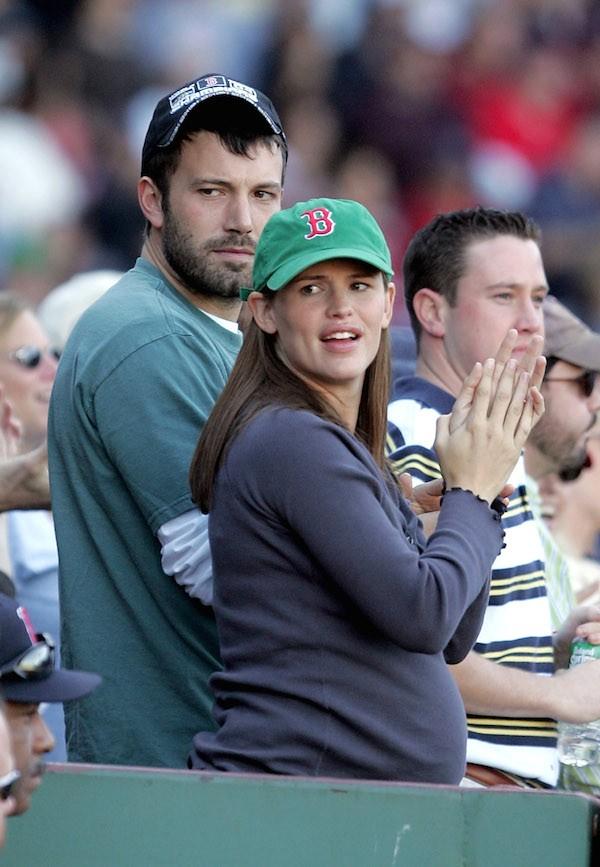 Ben Affleck e Jennifer Garner quando a atriz esteve grávida pela última vez (Foto: Getty Images)