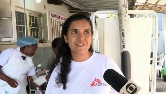 Brasileira ajuda na luta contra cólera em região devastada pelo ciclone Idai em Moçambique