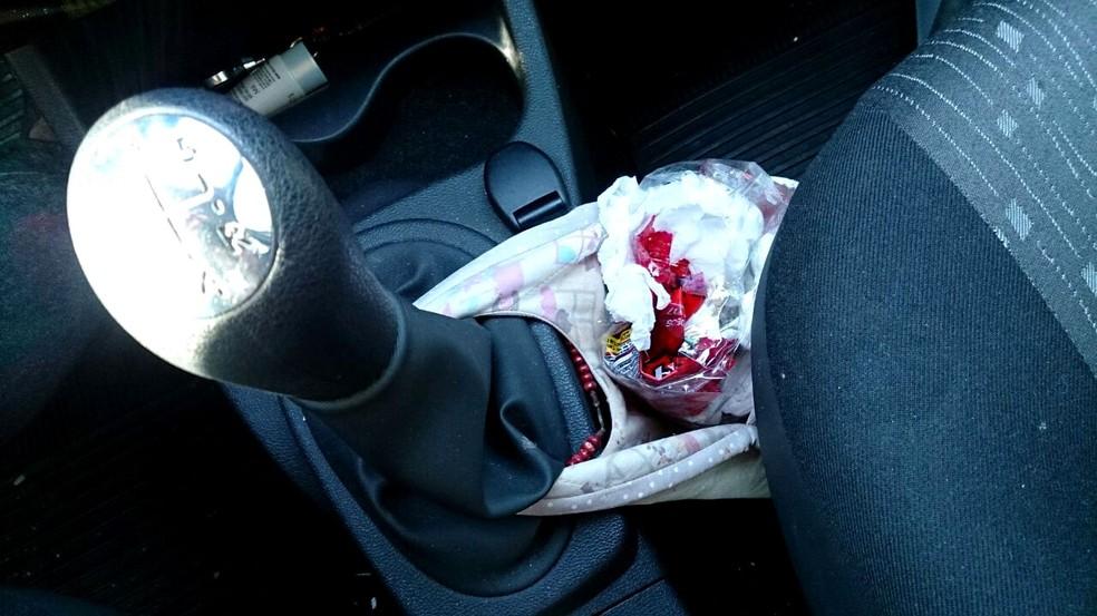 Lixo do carro deve ser retirado todos os dias, não pode acumular, segundo o estudo da Metrocamp (Foto: Patrícia Teixeira / G1)