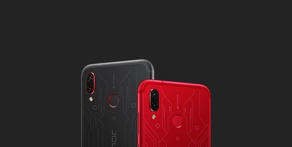 Huawei Honor Play: smartphone gamer tem vendas confirmadas na Ásia e Europa (Foto: Divulgação/Honor)