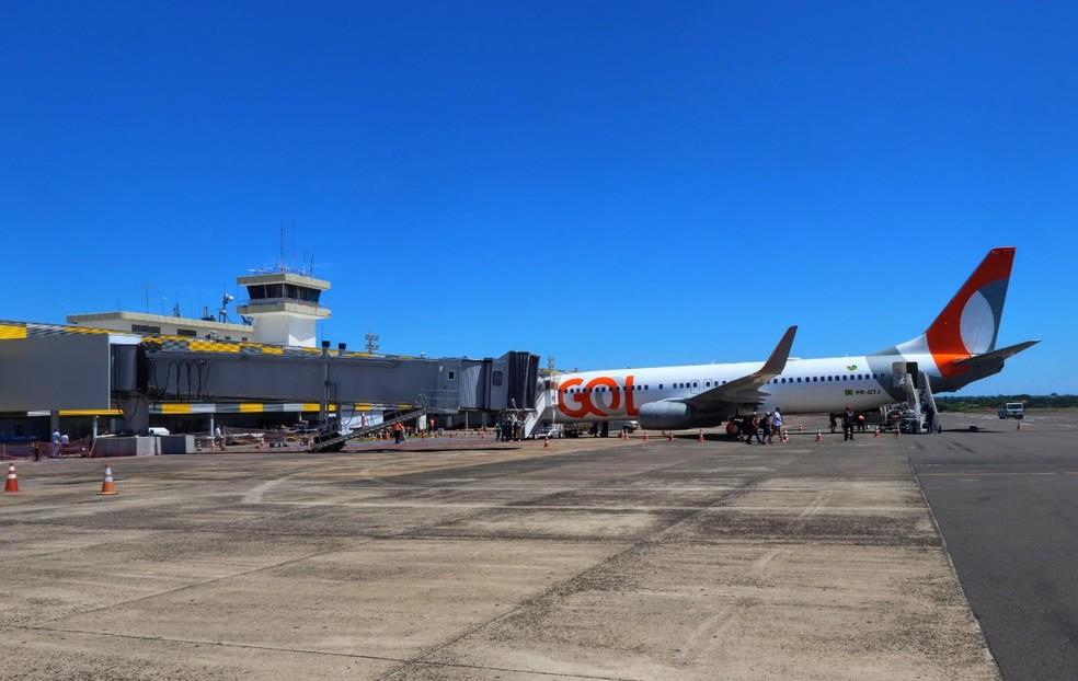 Aeroporto Internacional conta com voos diários para Campinas e Guarulhos (SP), em Foz do Iguaçu — Foto: Prefeitura de Foz do Iguaçu/Divulgação