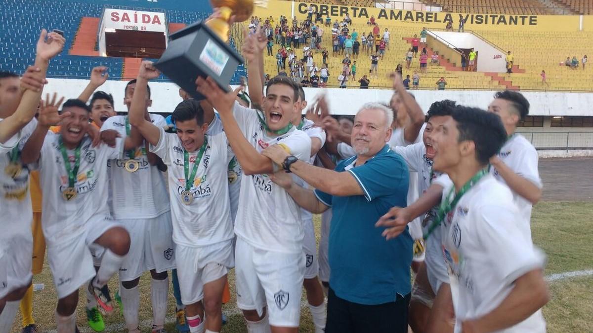 Corumbaense goleia Operário e é campeão sub-19  Comercial também vai à  Copinha  e736e71348179