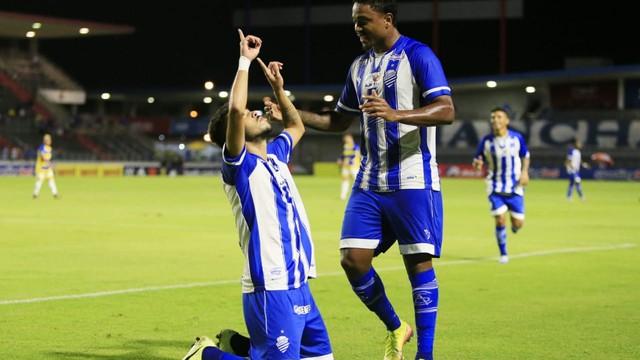 CSA x Frei Paulistano, pela Copa do Nordeste