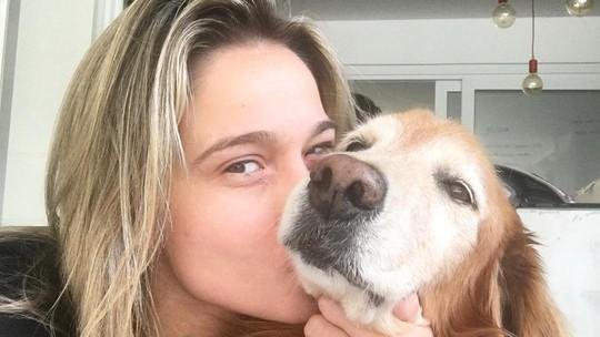 Fernanda Gentil cita aprendizado com sua cachorrinha, Nala: 'Me ensina todo dia'