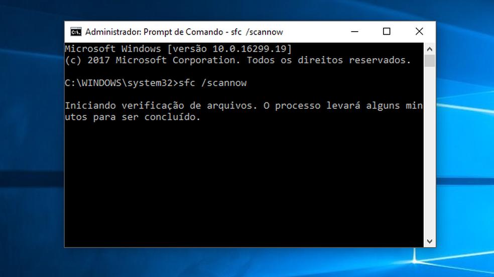 Faça uma varredura por problemas no disco do computador (Foto: Reprodução/Paulo Alves)
