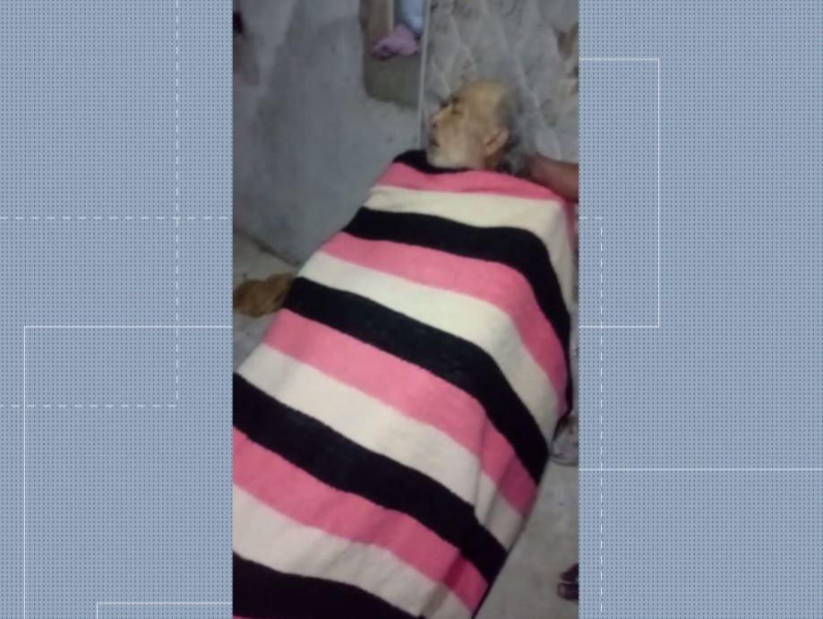 Polícia Civil investiga suspeita de abandono de idoso doente em calçada de Curitiba; VÍDEO