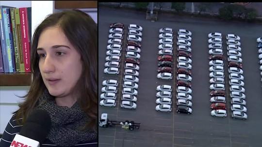 Varejo encolhe e venda de veículos para empresas chega a 48%