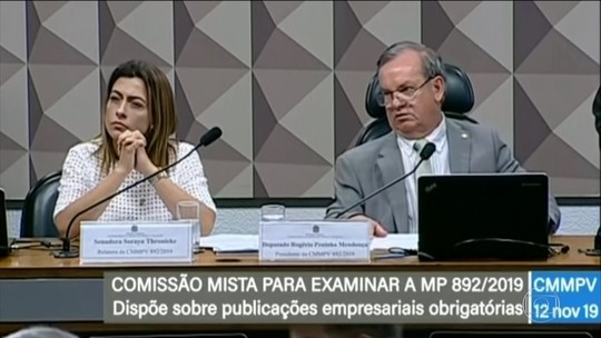 Comissão vota contra MP que dispensa empresas de publicar balanço em jornais