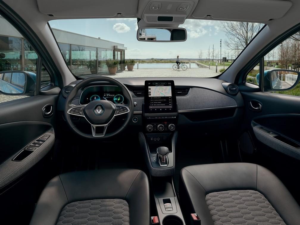 Renault Zoe 2020 — Foto: Divulgação