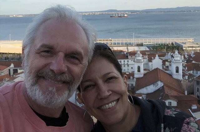 Henri Pagnoncelli e a mulher, Teresa Frota (Foto: Reprodução/Instagram)