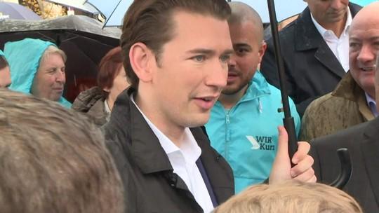 Partido do conservador Sebastian Kurz é o favorito nas eleições legislativas na Áustria
