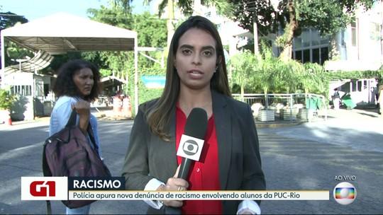 G1 no Bom Dia Rio: Polícia investiga denúncia de racismo envolvendo universitários