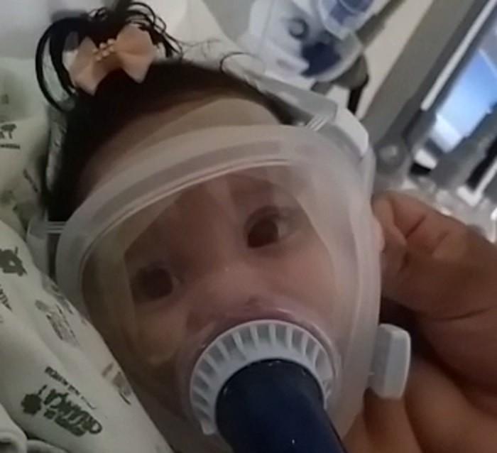 Após sobreviver à Covid-19, bebê com AME espera por medicamento para tratar doença rara no DF