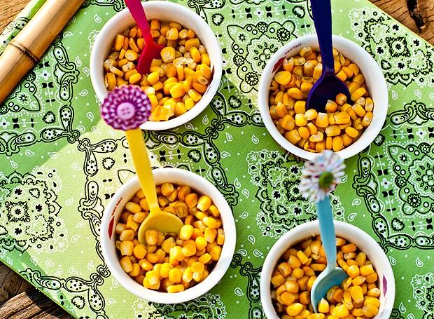 Milho na manteiga com ervas (Foto:  Ricardo Corrêa/Editora Globo)
