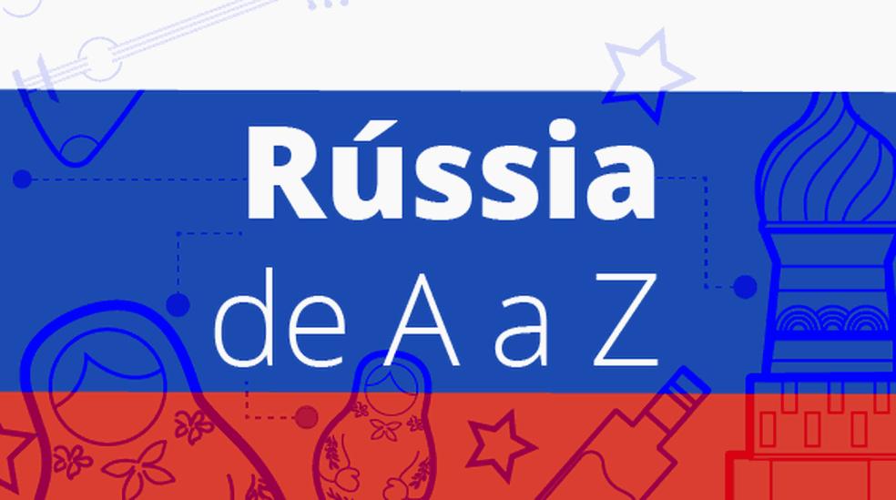 Rússia de A a Z: especial (Foto: Arte/G1)