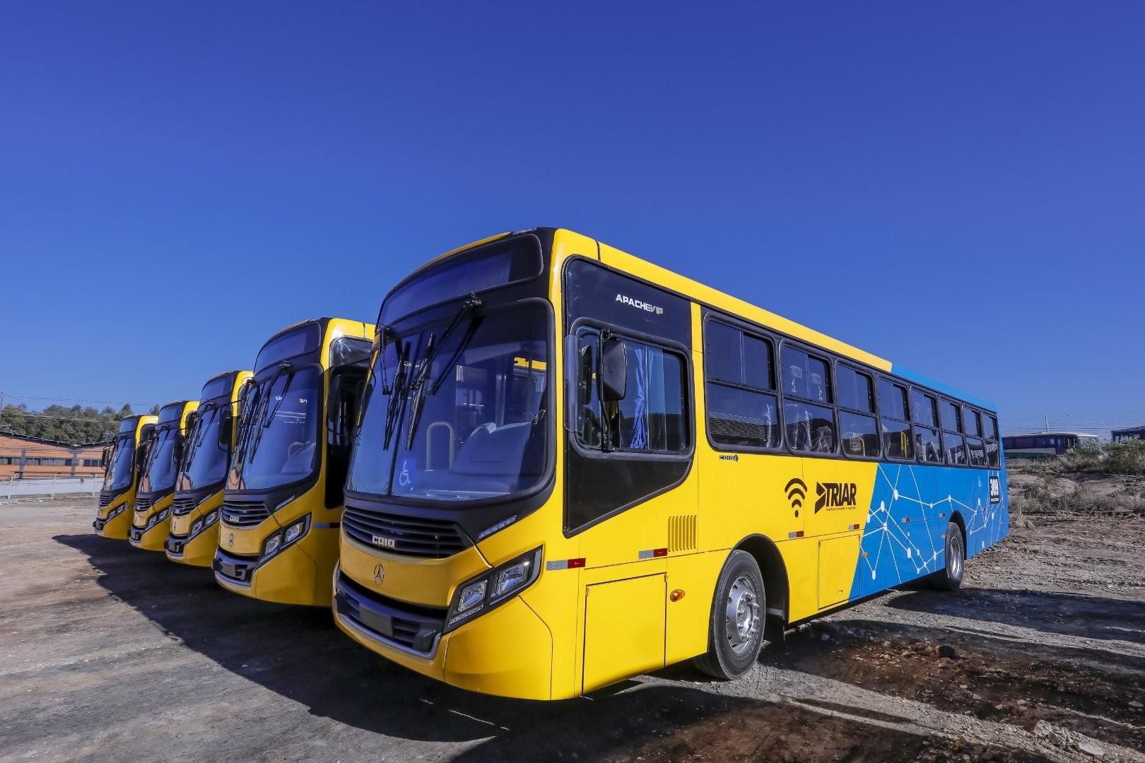 Novo transporte coletivo de Araucária começa nesta segunda (26)
