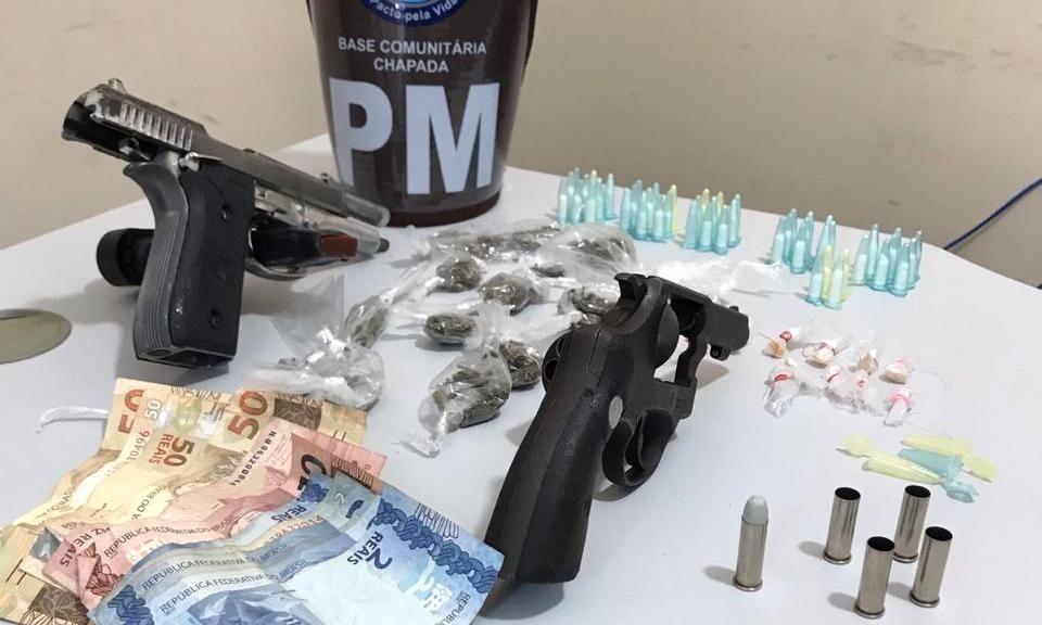 Dois homens suspeitos de tráfico de drogas morrem em confronto com policiais no Nordeste de Amaralina