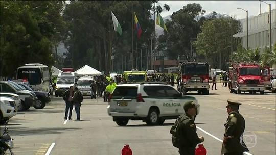 Colômbia identifica autor de ataque com carro-bomba que matou 10