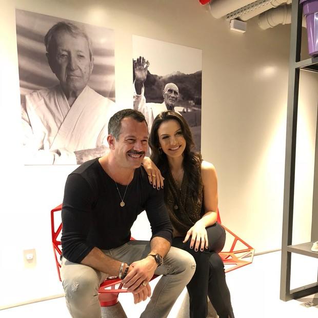 Malvino Salvador e Kyra Gracie (Foto: Divulgação)