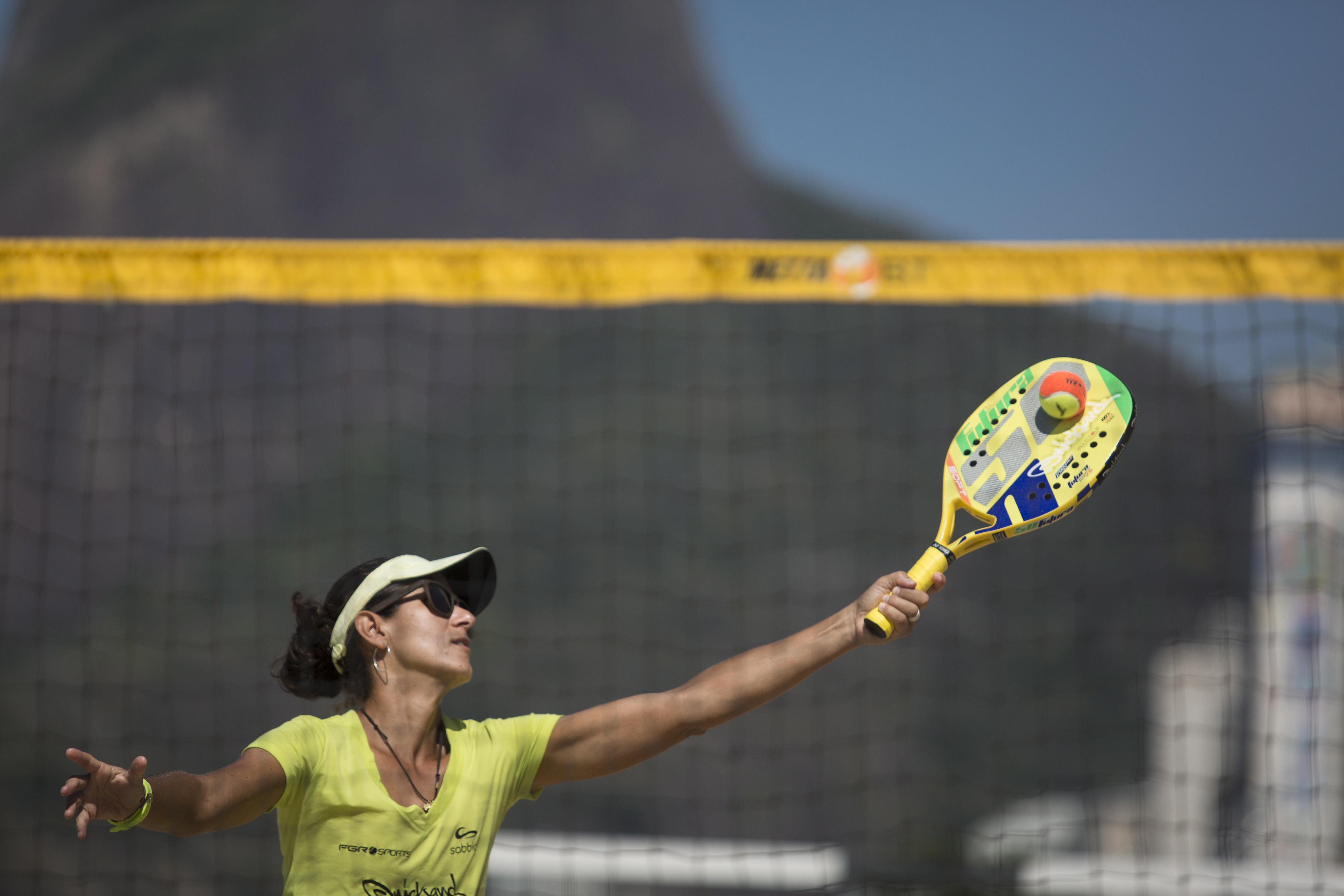 Beach tennis  Campeã mundial, Rafaella Miller é a favorita no ... 06495a71eb