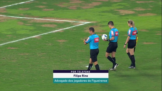 """Em nota, jogadores do Figueirense rebatem diretoria do clube: """"Únicos culpados pelo W.O."""""""
