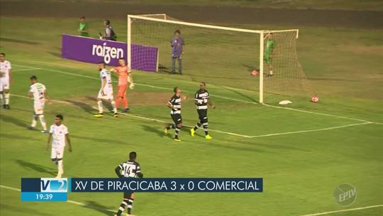 XV atropela o Comercial e se isola na liderança com segunda vitória consecutiva na Copa Paulista