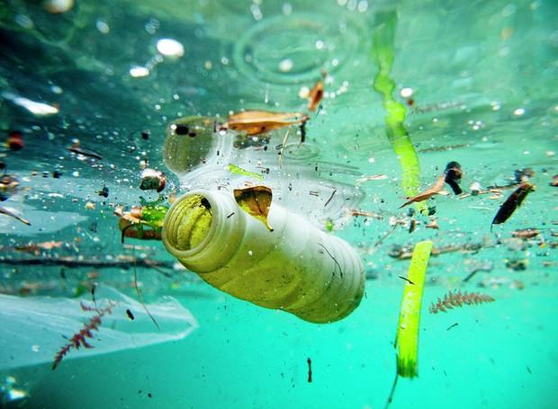 No mundo, 25 milhões de toneladas de lixo são despejadas no oceano, todos os anos, segundo a  Associação Internacional de Resíduos Sólidos (Iswa)  (Foto: Pixels/ Reprodução)