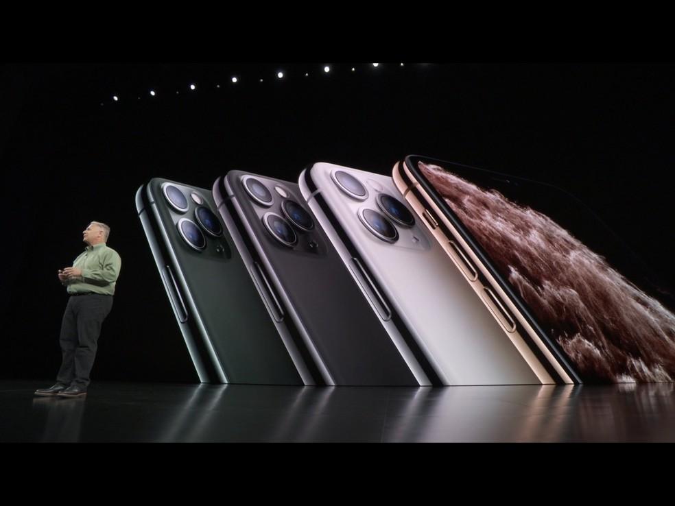 Apple apresenta iPhone 11 Pro — Foto: Reprodução