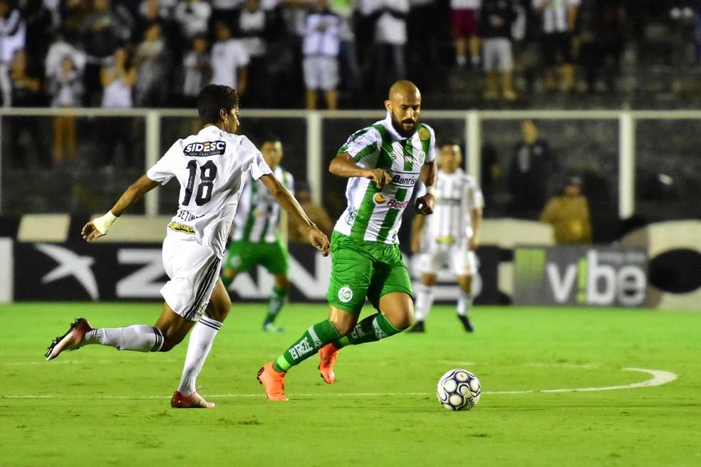 Ricardo Jesus jogou pelo time gaúcho em 2018 — Foto: Arthur Dallegrave / E.C. Juventude