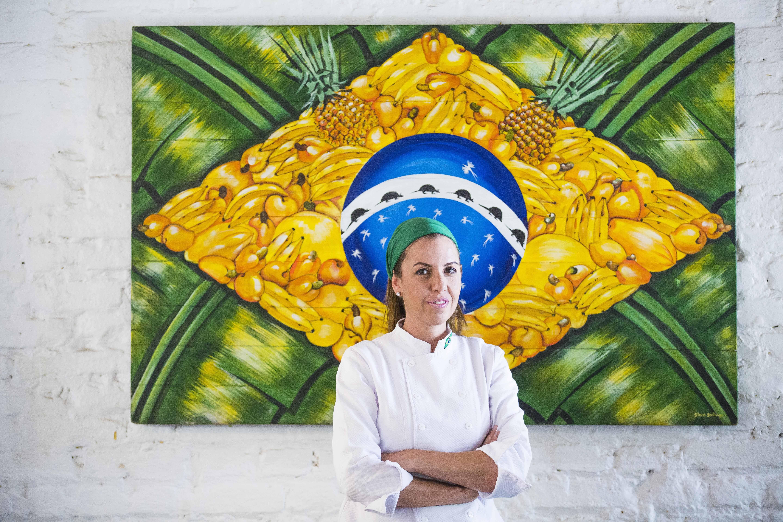 Chef Morena Leite leva menu do Capim Santo para a avenida