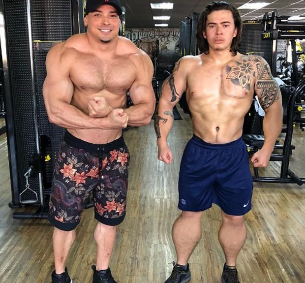 Felipe Franco e Whindersson Nunes em montagem divulgada na web (Foto: Reprodução/Instagram)