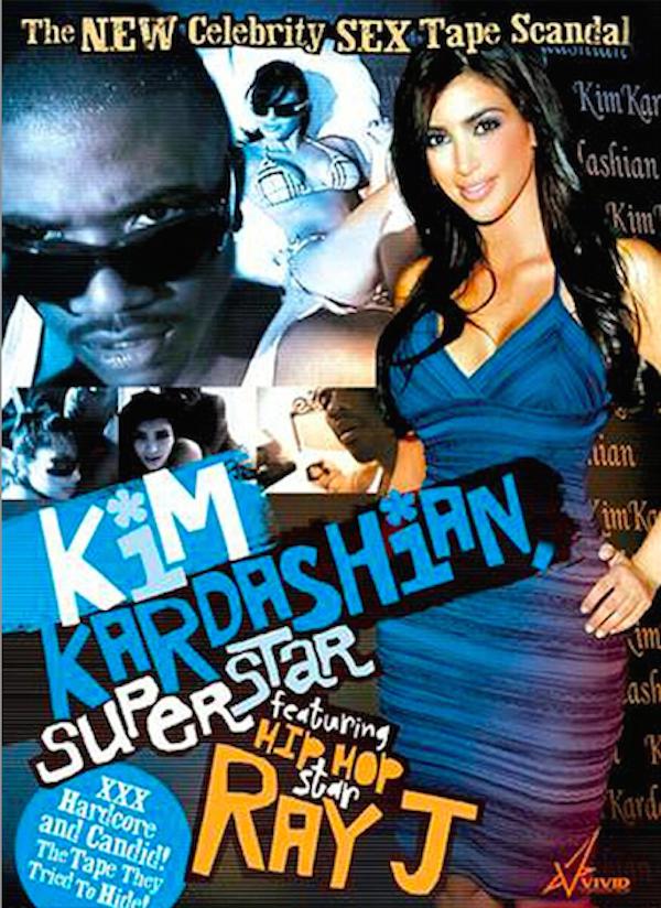 A capa da sex tape de 2007 estrelada por Kim Kardashian (Foto: Reprodução)