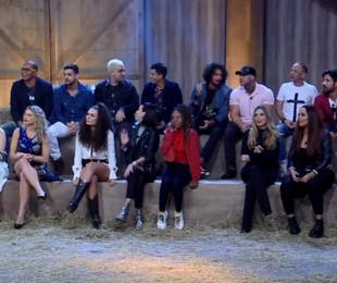 Participantes da décima temporada de 'A fazenda' | Reprodução