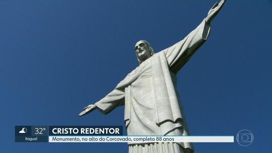 Cristo Redentor completa 88 anos