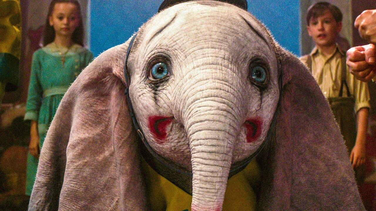 Dumbo prestes a se apresentar no circo (Foto: Divulgação)