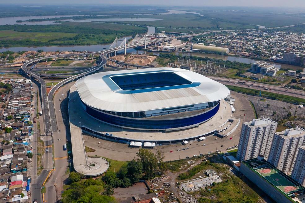 Jogos da Copa América em Porto Alegre acontecem na Arena do Grêmio — Foto: Luciano Lanes/Arquivo PMPA