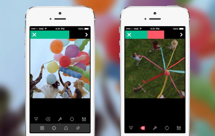 Undo button: Vine ganha botão desfazer no Android (Foto: Reprodução/Vine)