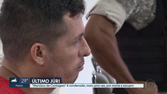 'Maníaco de Contagem' é condenado pela quinta vez na Grande BH