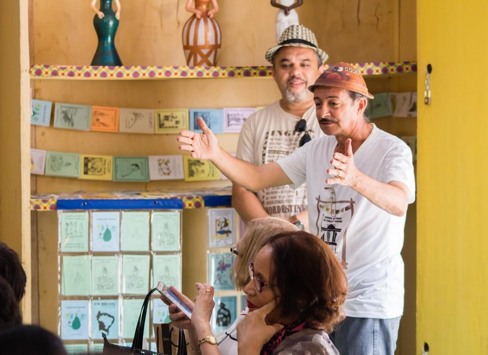 5ª edição do Festival Literário Arrasta Cordel começa na quinta-feira (2), em Caruaru (Foto: Joyce Lima/Divulgação)
