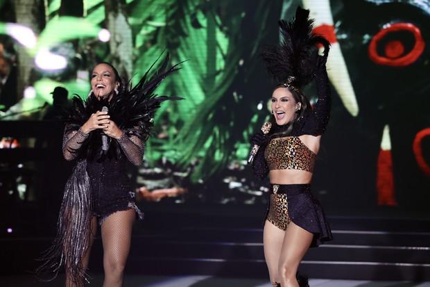 Ivete Sangalo e Claudia Leitte em live de Carnaval (Foto: Manuela Scarpa/Brazil News)