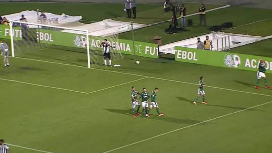 Assista aos melhores momentos da goleada do Palmeiras