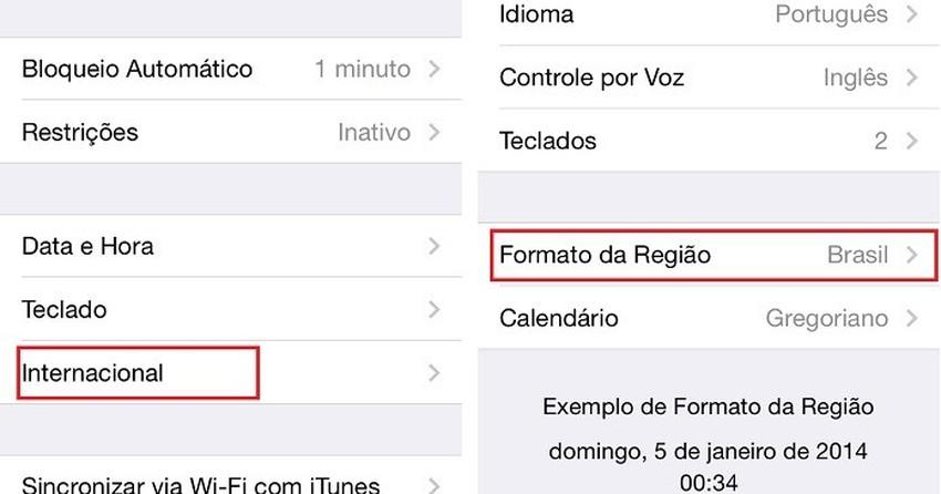 Calendário de feriados brasileiros vem 'escondido' no iOS 7.1