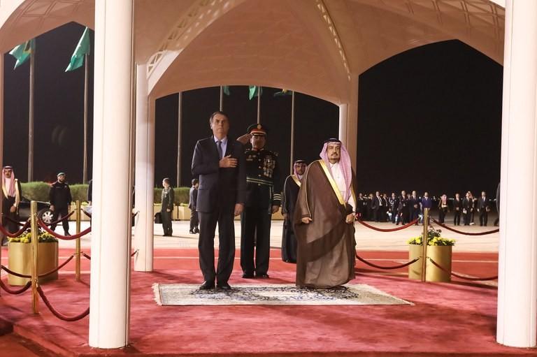 bolsonaro-arabia-saudita (Foto: Presidência da República)