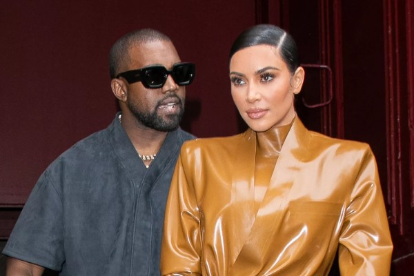Kanye West e Kim Kardashian (Foto: Getty Images)