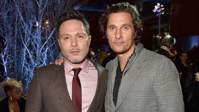 Nic Pizzolatto e Matthew McConaughey (Foto: Reprodução)