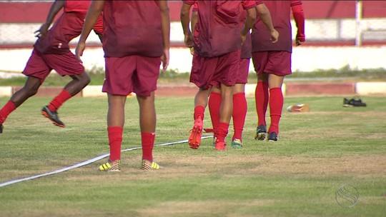 Segredo total: Sergipe também fecha treinos pré-clássico