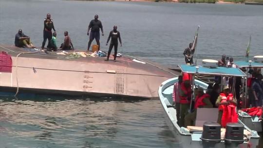 Naufrágio na no maior lago da África, na Tanzânia, deixa mais de 200 mortos
